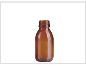 Amber Glass Syrup Bottle 100ml Feature Image
