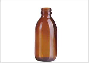 Amber Glass Syrup Bottle 200ml Feature Image