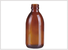 Amber Glass Syrup Bottle 250ml Feature Image