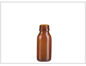 Amber Glass Syrup Bottle 60ml Feature Image