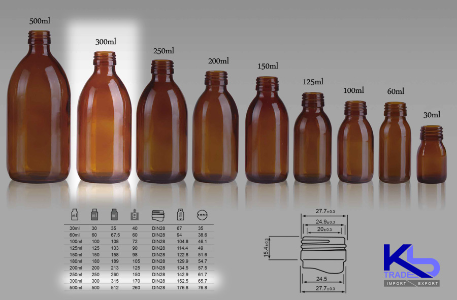 Ml Glass Bottles
