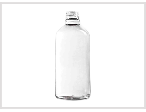 Clear Glass Essential Oil Bottles Feature Image 100ml