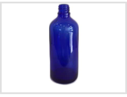 Cobalt Blue Essential Oil Bottle 100ml, Din18