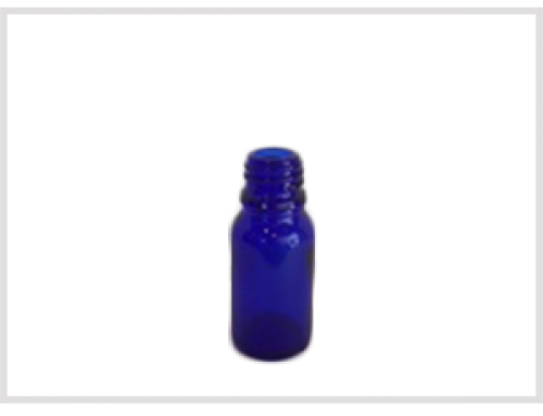 Cobalt Blue Essential Oil Bottle 10ml, Din18