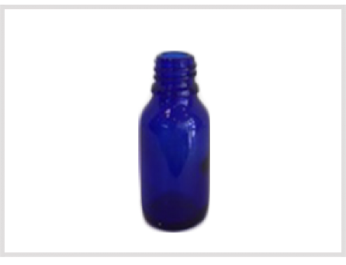 Cobalt Blue Essential Oil Bottle 30ml, Din18