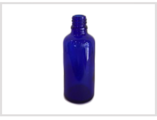 Cobalt Blue Essential Oil Bottle 50ml, Din18
