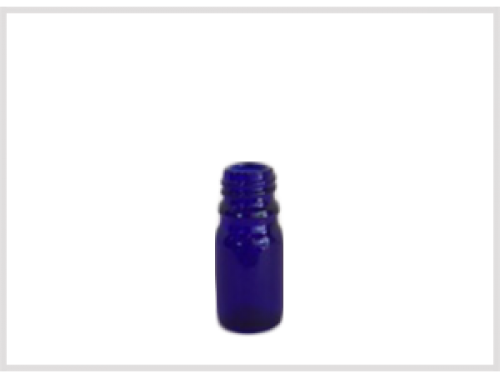 Cobalt Blue Essential Oil Bottle 5ml, Din18