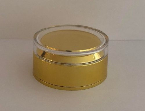 Matte gold Cap for new 50ml jar