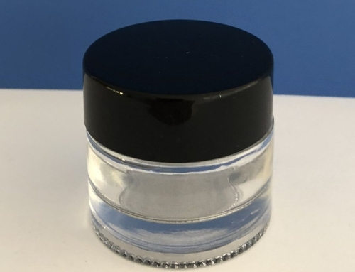 Clear Glass Jar, 10ML