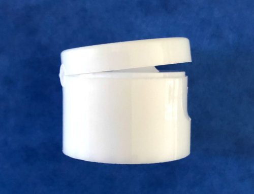 White Flip Top Cap 28/410