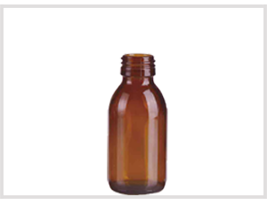 Amber Glass Syrup Bottle 125ml Feature Image