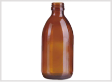 Amber Glass Syrup Bottle 300ml Feature Image
