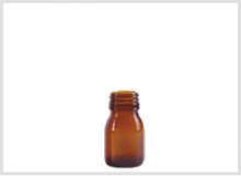 Amber Glass Syrup Bottle 30ml Feature Image