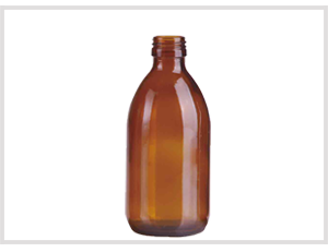 Amber Glass Syrup Bottle 300ml Feature Image New