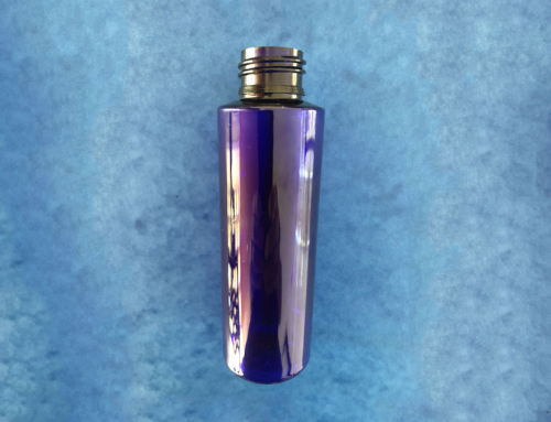 PET Bottles 200ml, 24/410 Cobalt Blue